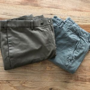 Perry Ellis and Old Navy Men's 36x32 Pant Lot